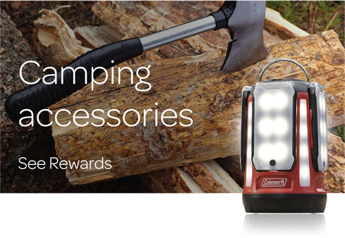 Camping Accessories - See all Rewards