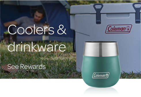Coolers & Drinkware - See all Rewards
