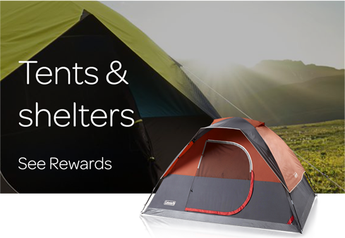 Tents & Shelters - See all Rewards