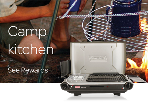 Camp Kitchen - See all Rewards